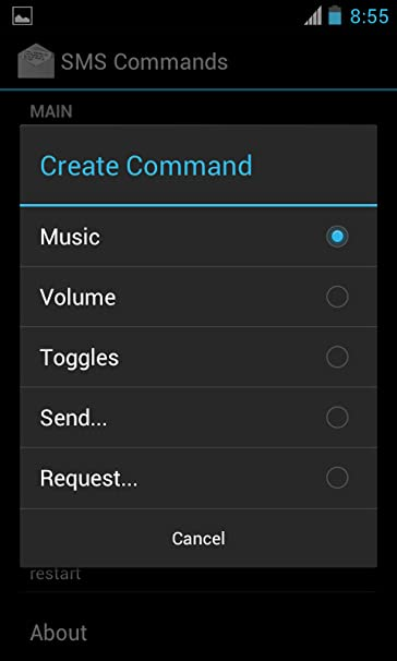 Amazon com: SMS Commands: Appstore for Android