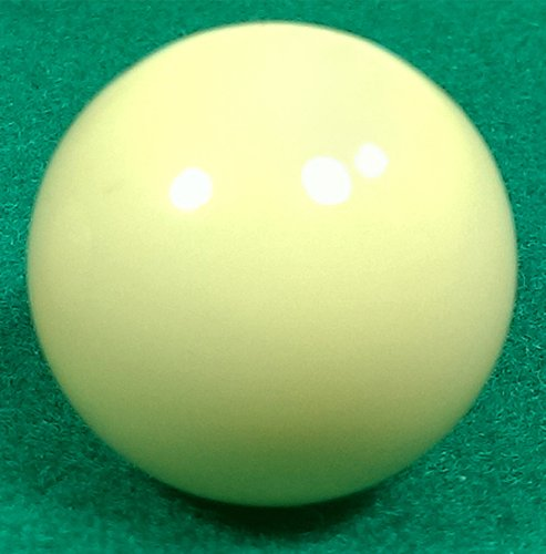 (1) 21mm Ivorine High Grade Roulette Ball for Roulette Wheel