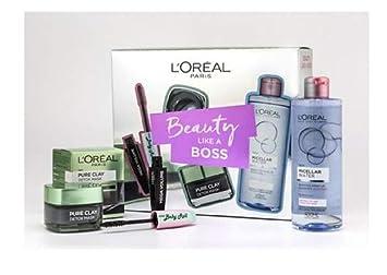 45c157d81fa Exclusive New L'Oreal Paris Beauty Like A Boss Mask, Micellar & Mascara Gift