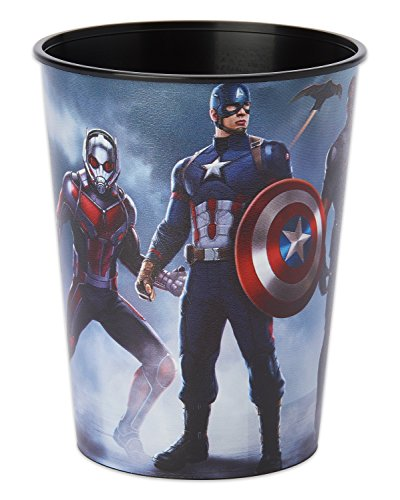 (American Greetings Captain America: Civil War Plastic Party Cup, 16 oz)