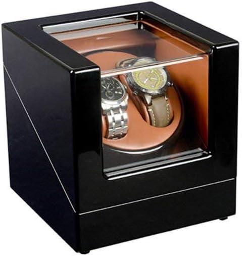 Watch Winder, Motore Elettrico Winding Box 2 + 0 Tabella di Posizione, di Fascia Alta vigilanza Meccanica Storage Box/Fashion Piattaforma Girevole Dell\'Oscillazione Box B