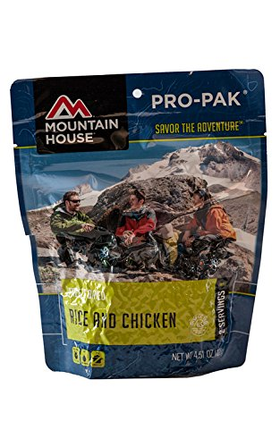 (Mountain House Rice & Chicken Pro-Pak)