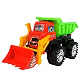 Lingxuinfo Toddler Baby Toy Push Car Construction Vehicles Toys Beach Forklif Series Simulation Kids Fancy Toys