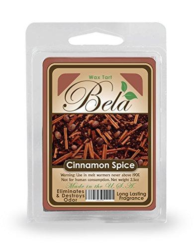 - Bela BWM-04 Cinnamon Spice Wax Melts / Tarts / Cubes - 2.5 oz