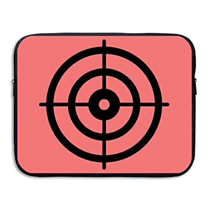 7ea997c6b600 Image Unavailable. Image not available for. Color  CHJOO Briefcase Laptop  Messenger Bag Gun Darts Target ...
