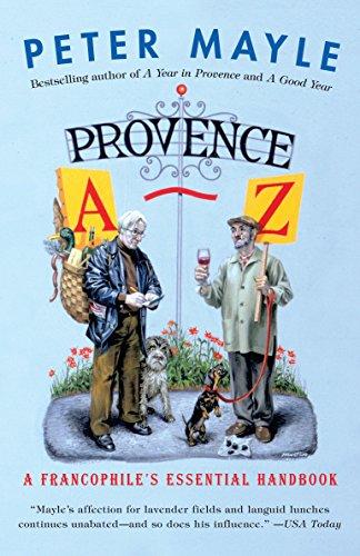 Books : Provence A-Z: A Francophile's Essential Handbook (Vintage Departures)