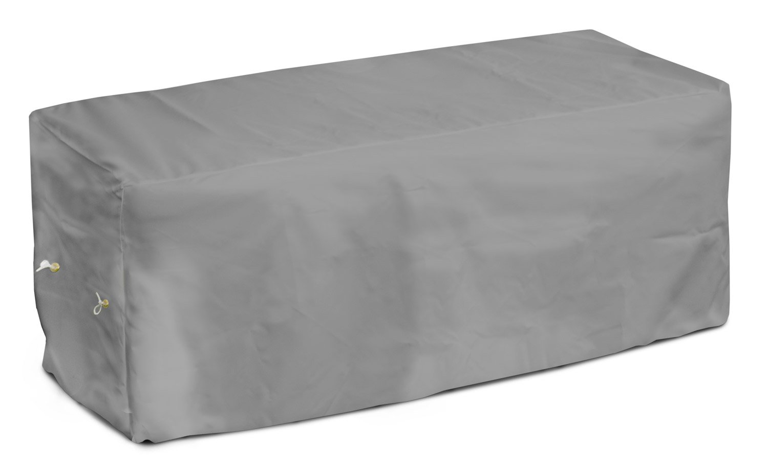 KoverRoos Weathermax 14212 4-Feet Garden Seat Cover White 51-Inch Width by 28-Inch Diameter by 18-Inch Height