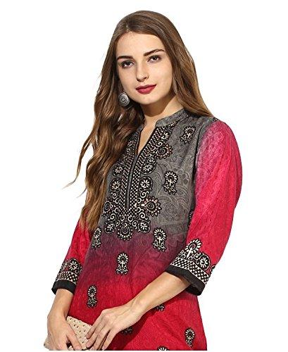 Lagi Kurtis Ethnic Women Kurta Kurti Tunic Digital Print Top Dress Casual Wear New Launch by Lagi (Image #2)