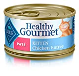 BLUE Healthy Gourmet Kitten Pate Chicken Wet Cat Food 3-oz (Pack of 24)