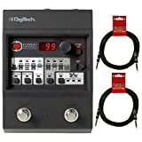 Digitech Element Guitar Floor Processor Multi-Effects Pedal w (2) 10' Guitar Cables
