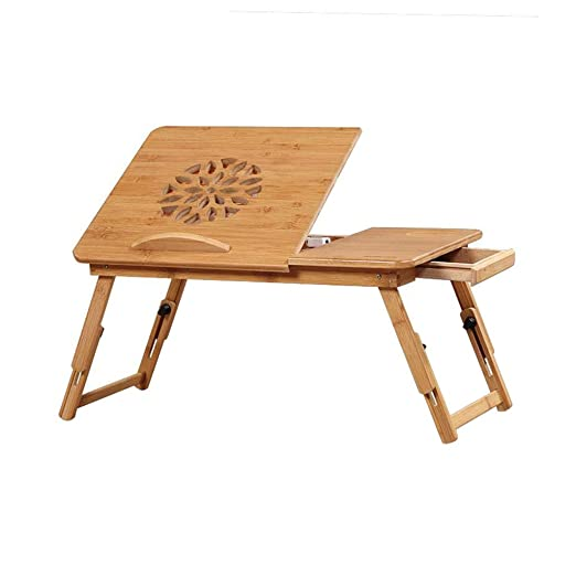 XUQIANG Bambú Plegable Cama portátil Tabla Altura y ángulo ...