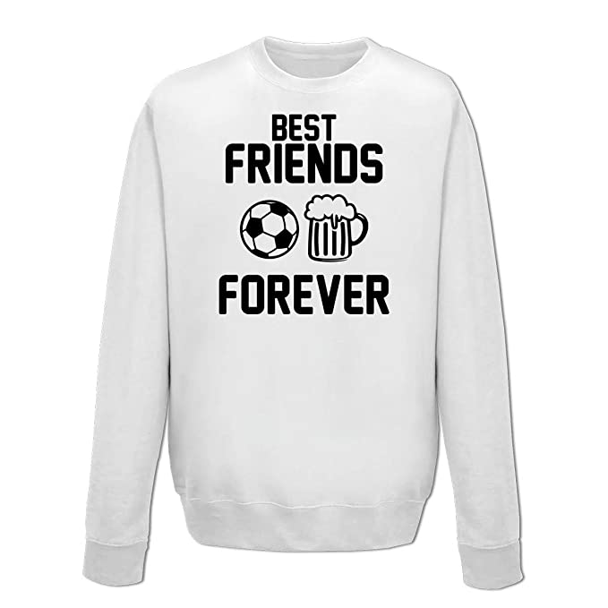 Shirtcity Sudadera Best Friends Forever Beer Football by: Amazon.es: Ropa y accesorios