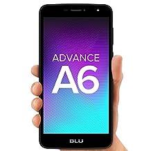 BLU Advance A6 -Unlocked Dual Sim Smartphone- Black