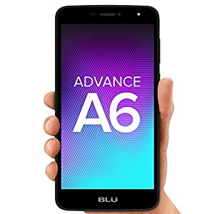 "BLU Advance A6 -Unlocked Dual Sim Smartphone - 6.0"" HD Display – Black"