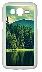 Samsung Grand 7106 Cases & Covers -Lake and tree Polycarbonate Hard Case Back Cover for Samsung Grand 2/7106 White