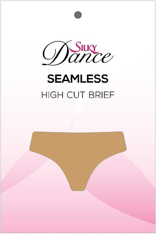 Silky Women/'s Children Ballet Dance Seamless High Cut Brief Underwear Nude
