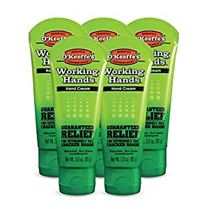 O'Keeffe's Working Hands Hand Cream, 3 oz., Tube, (Pack of 5)