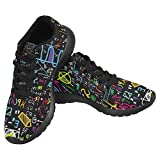 InterestPrint Women's Jogging Running Sneaker Lightweight Go Easy Walking Casual Comfort Running Shoes Size 6 Physical Formulas and Phenomenon