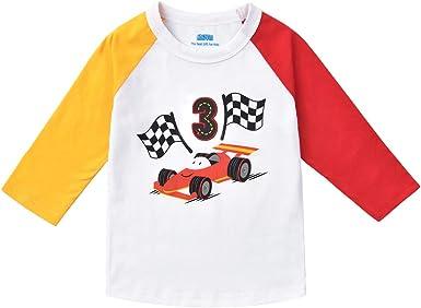 AMZTM Camiseta Jersey béisbol Manga Camisa raglán 3e ...