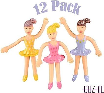 Ballerina Ballet Dancer Keyrings Dance Party Gift Bag Fillers Favors Choose 6 12