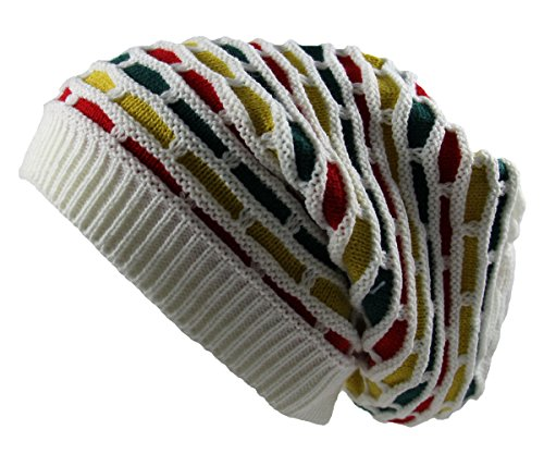 RW Rasta Dreadlock Honeycomb Beanie product image