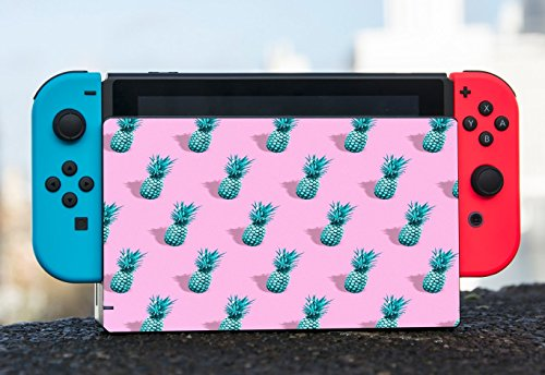 Pineapple Cute Pattern Retro Nintendo Switch Dock Vinyl Decal Sticker Skin by Moonlight Printing