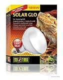 Exo Terra Solar-Glo High Intensity Self-Ballasted Uv/Heat Mercury Vapor Lamp - 160-Watt. Lamp