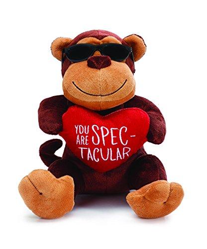 Brown Plush Monkey Wearing Black ()