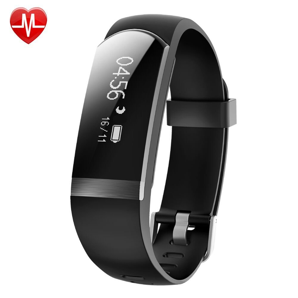 Willful Fitness Tracker, Heart Rate Monitor Watch Waterproof Smart Bracelet Activity Tracker with Sleep Monitor Step Calories Counter Alarm Clock Call Message Notice for Android iOS Phones Women Men by Willful