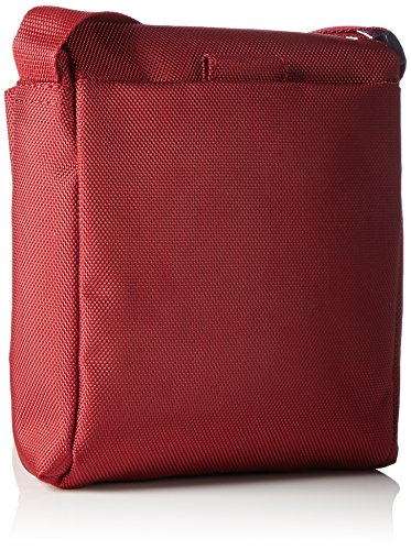 Picard Hitec - Bolso bandolera (nailon, 16 cm) Rot