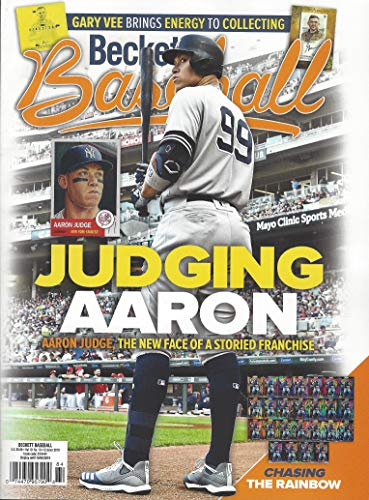 Newest Guide Beckett Baseball Card Monthly Price Guide August 21 2019 Releasea Judge Cover Pricing Starts At 1980