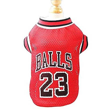 KayMayn Pet jersey pallacanestro licenza Dog jersey, disponibile in 3taglie, vestiti del cane calcio t-shirt cani costume National Soccer World Cup, outdoor abbigliamento sportivo estate traspirante