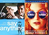 Say Anything 80's Teen Movie + Almost Famous Bundle Double Feature Set