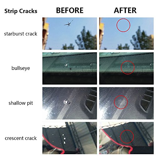 FMS Car Windshield Repair Kit for Different Chips and Cracks by FMS (Image #2)