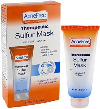 Acnefree Therapeutic Sulfur Mask, 1.7 Ounce