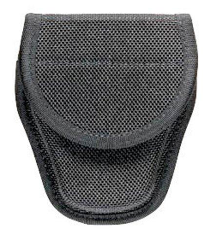 Hiatts Ul 1 Cuff Case - Bianchi 7318 Hiatts Ul-1 Cuff Case Tri-Hinged Black Hidden