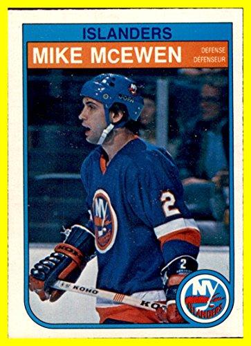 1982-83 O-Pee-Chee #207 Mike McEwen NEW YORK ISLANDERS by thecardattic