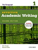 img - for Effective Academic Writing Second Edition: 1: Student Book by Alice Savage (12-Jul-2012) Paperback book / textbook / text book