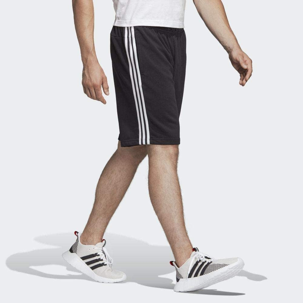adidas Essentials 3 Stripes Short French Terry Shorts Uomo