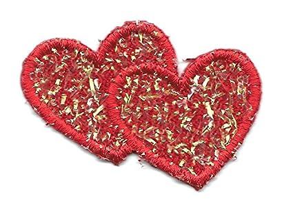 Amazon heart hearts red confetti valentines love