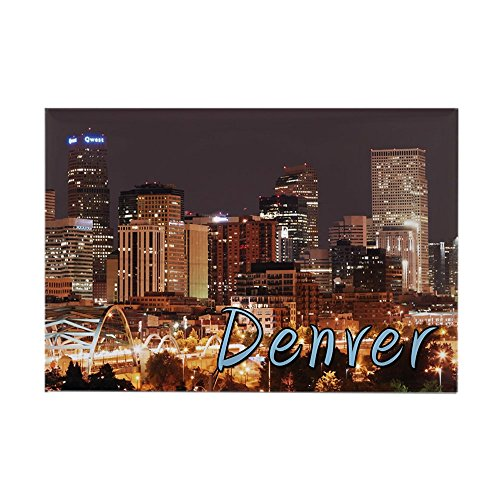Cafepress   Denver Colorado   Rectangle Magnet  2 X3  Refrigerator Magnet