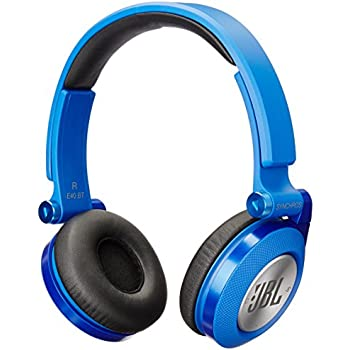 JBL E40BT Blue High-Performance Wireless On-Ear Bluetooth Stereo Headphone, Blue