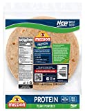 Mission Protein Tortilla Wraps, High Fiber, Low