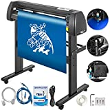VEVOR Vinyl Cutter 34 Inch Plotter Machine 870mm Paper Feed Vinyl Cutter Plotter Signmaster Software Sign Making Machine with Stand (34Inch Style 2)