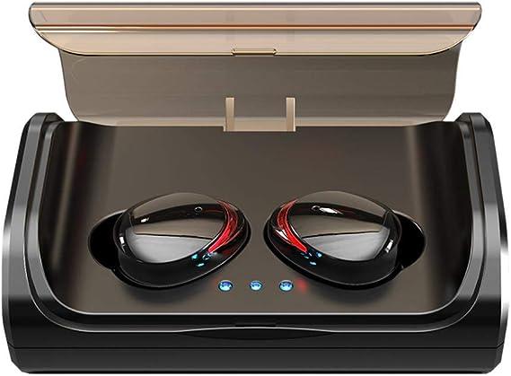 Auriculares inalámbricos T8 Auriculares inalámbricos Bluetooth 5.0, TWS Auriculares Bluetooth HIFI Estéreo Auriculares deportivos con reducción de ruido con estuche de carga, IPX7 Auriculares: Amazon.es: Electrónica