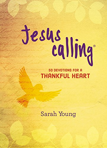 Jesus Calling: 50 Devotions for a Thankful Heart (Jesus Calling®)