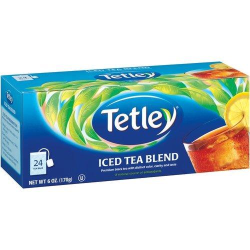 TETLEY ICED TEA BAGS FAMILY SIZE 24 CT (Iced Tea Blend)
