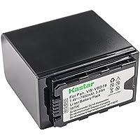 Kastar Camcorder Battery 1 Pack for Panasonic VW-VBD78 VW-VBD58 VW-VBD29 & Panasonic AG-UX180 AG-UX90 AG-3DA1 AG-AC8 AG-DVC30 AG-HPX171 AG-HPX250 HPX255 AJ-PX270 AJ-PCS060 HC-MDH2 HC-X1000 HDC-Z10000