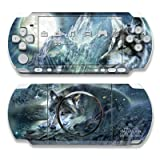 Bark At The Moon Design Decorative Protector Skin Decal Sticker for Sony PSP 3000