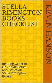 Stella rimington books in order